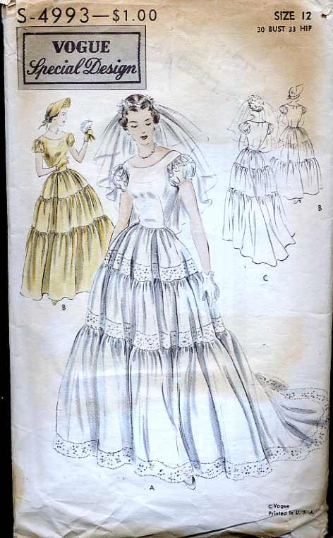 vogue-wedding-1960-triple-tier-puff-sleeve