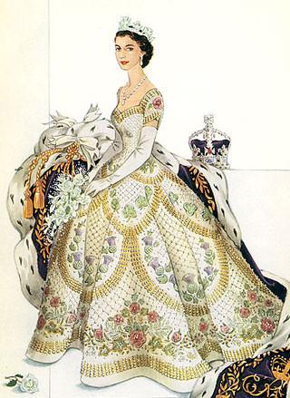 Платье для коронации
