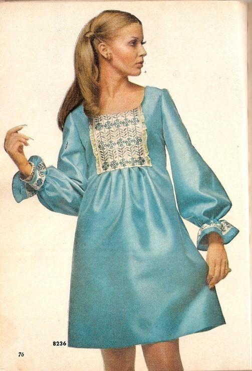 Платья семидесятых