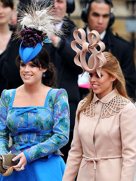 Принцесса Евгения и принцесса Беатрис