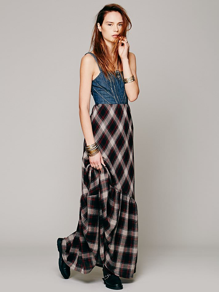 538-Wild-Coyote-Plaid-Dress-For-Women-1